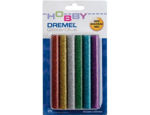 Цветные клеевые стержни Dremel 11 мм (GS2)