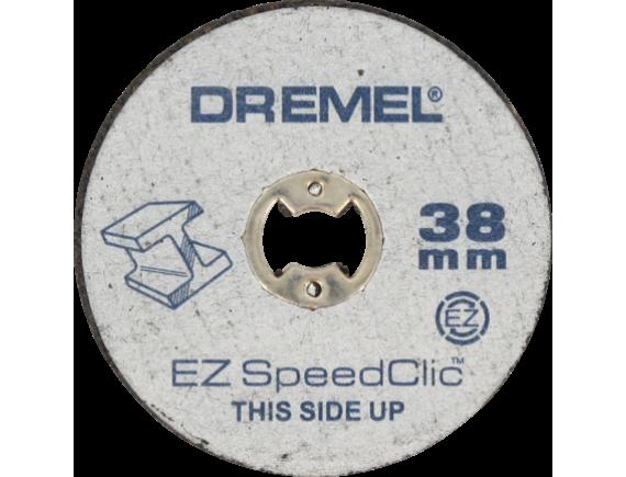 Металлические отрезные круги Dremel EZ SpeedClic 5-pack (SC456)