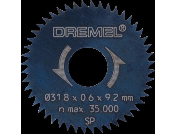 Пильный диск для продольной и поперечной резки Dremel 31,8 мм (546)