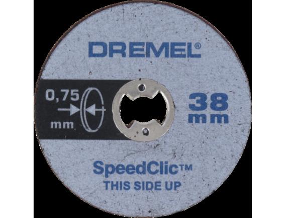Тонкие отрезные диски Dremel EZ SpeedClic (SC409)