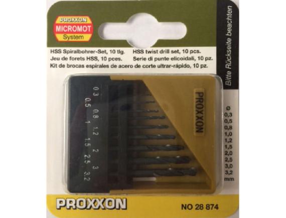 Набор свёрл по металлу (10 шт.) Proxxon (28874)