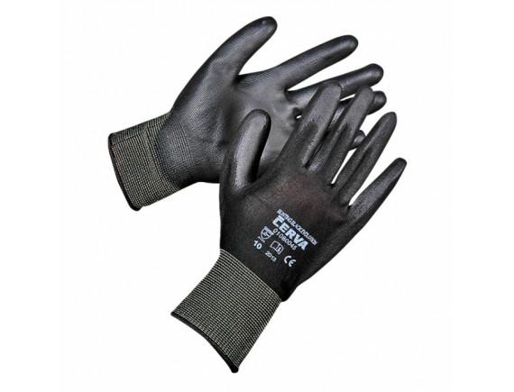 Рабочие перчатки прорезиненные Cerva Bunting Evo