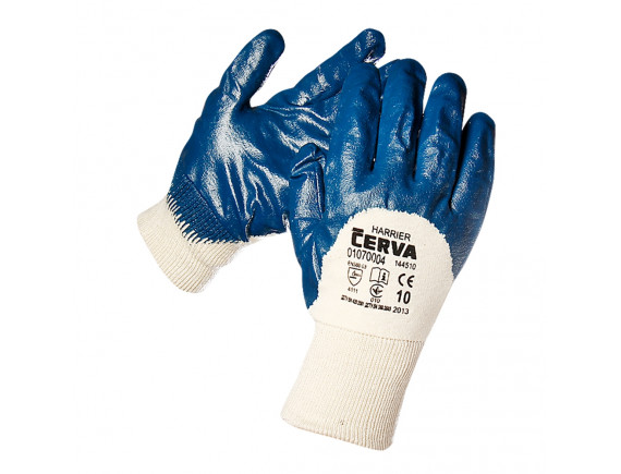 Рабочие перчатки прорезиненные Cerva Harrier