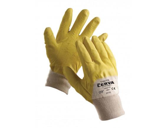 Рабочие перчатки прорезиненные Cerva Twite