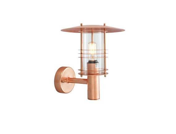Настенный уличный светильник Norlys Stockholm Copper