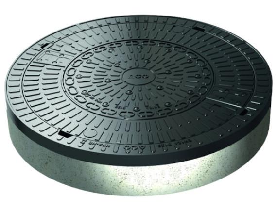 Канализационный люк композитный ACO Multitop (круглый, 600мм)