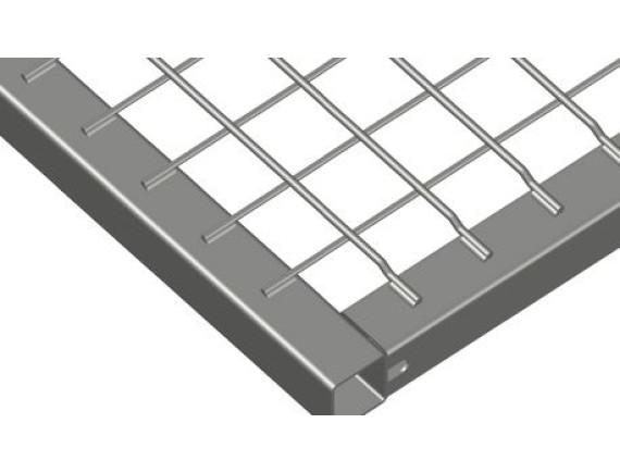 Рамка стальная оцинкованная MEISER