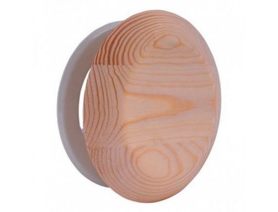 Вентиляционный клапан для бани 100мм (Кедр)