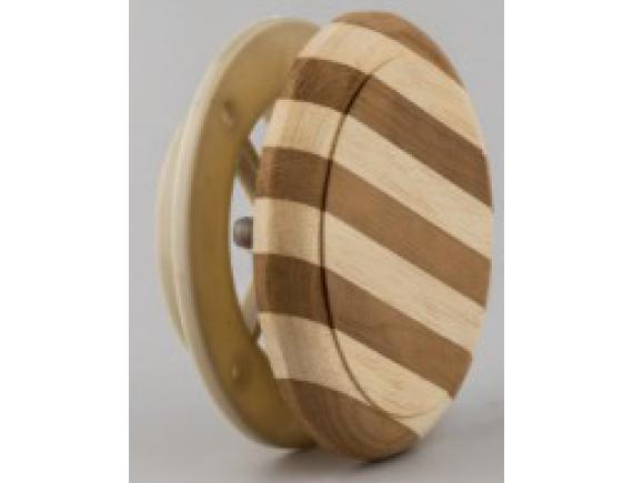 Вентиляционный клапан для бани 100мм (Зебра)