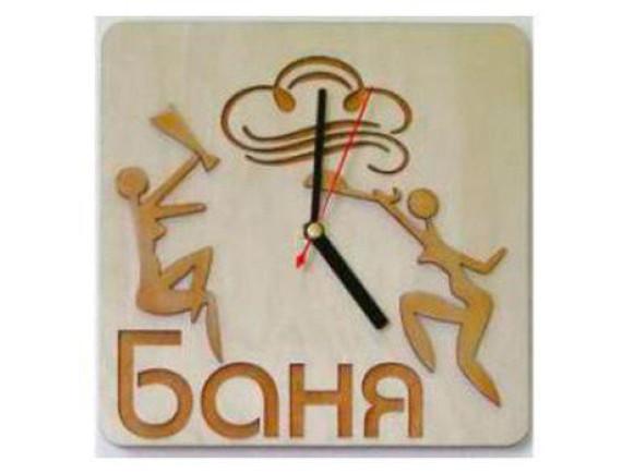 "Часы для бани ""Баня с девушками"""