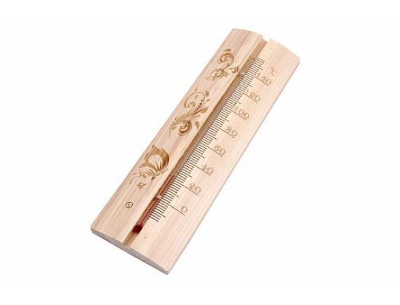 Термометр для бани и сауны полукруглый ТСС-4
