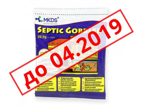 Бактерии для септика и выгребных ям Septic Gobbler (до 04.2019)