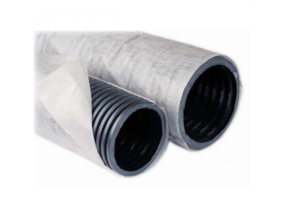 Дренажная труба в геотекстиле ОСТ (первичный пластик)