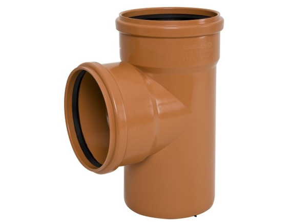 Тройник канализационный наружный Ø160 - Ø160 PP Armakan