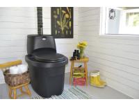 Сухой туалет для дачи Biolan (с разделителем)