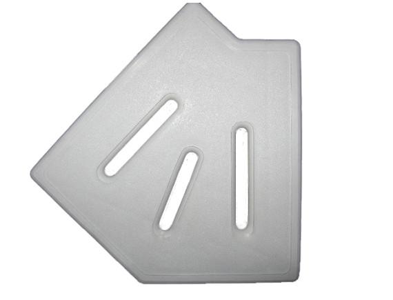 Угловой элемент переливной решетки 45°