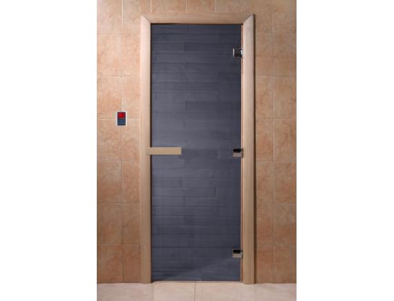 """Дверь для бани """"Синий жемчуг"""""""