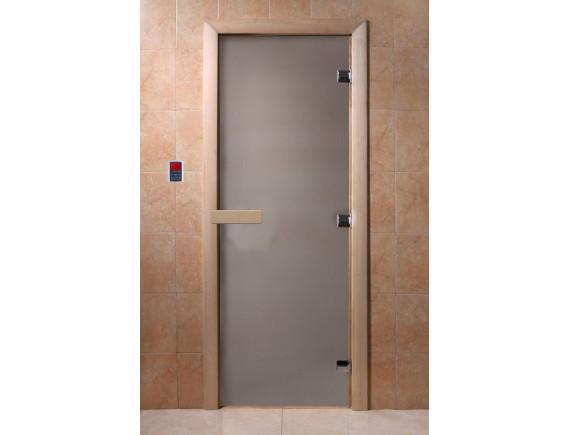 """Дверь для бани """"Теплый день"""" (сатин)"""