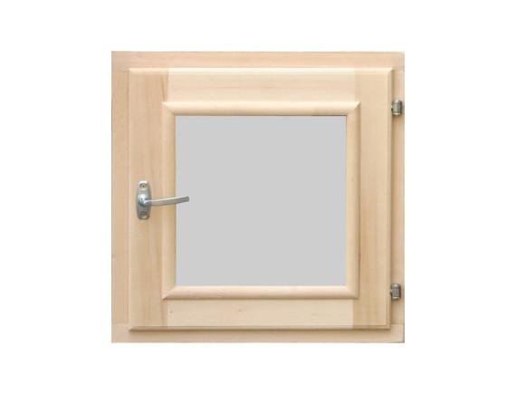 Окно-форточка для бани (стеклопакет, хвоя)