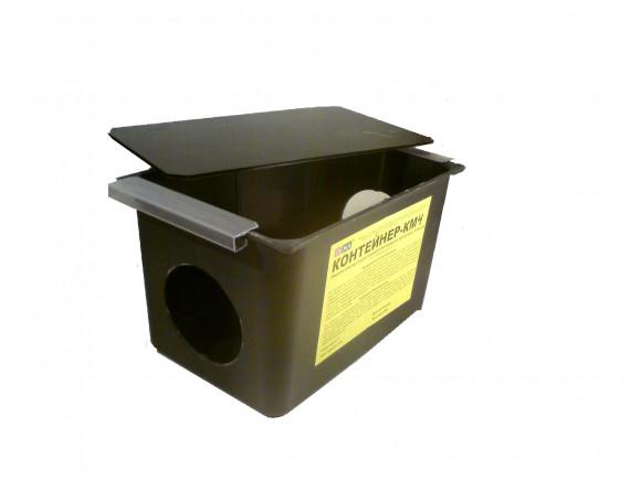 Контейнер-КМ4. Емкость для раскладки отравленной приманки против крыс и мышей