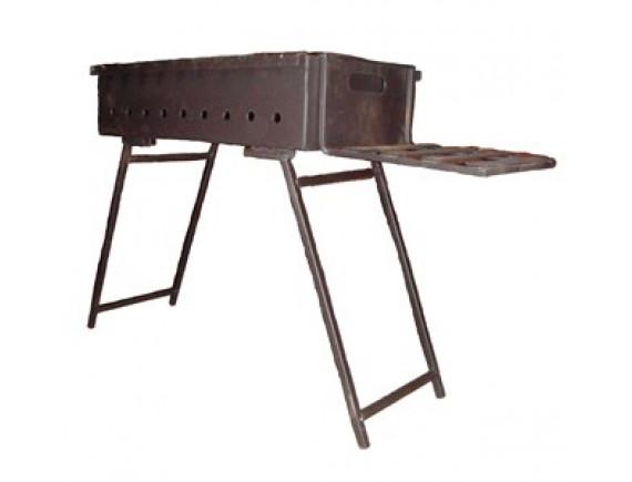 Мангал из металла для дачи (тип 1)