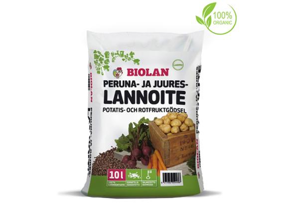 Природное удобрение Biolan для картофеля и корнеплодов 10 л