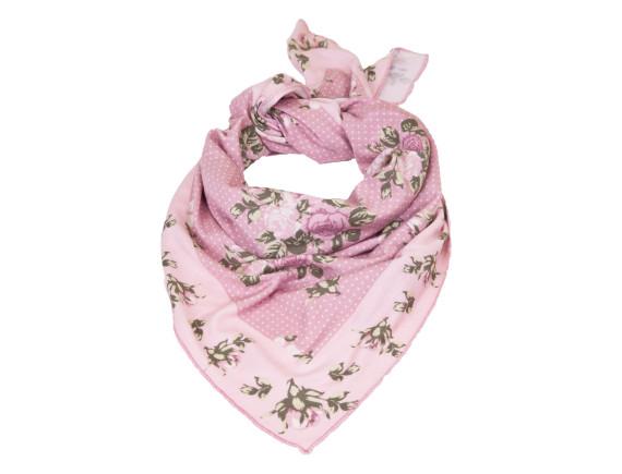 Шейный платок - шарфик GardenGirl Roses Collection (розовый)