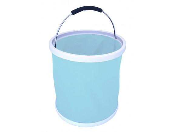 Ведро резиновое складное Burgon & Ball (голубое)