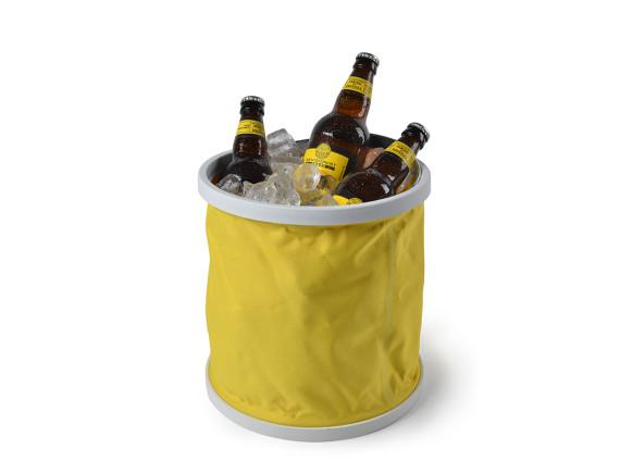 Ведро резиновое складное Burgon & Ball (желтое)