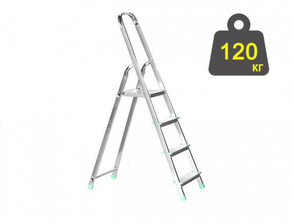 Лестница-стремянка алюминиевая iTOSS Eurostyl 77 см (2914)