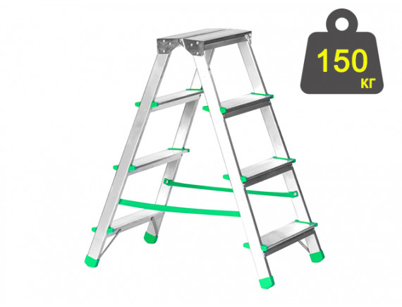 Лестница-стремянка алюминиевая iTOSS Eurostyl 78 см (1924)