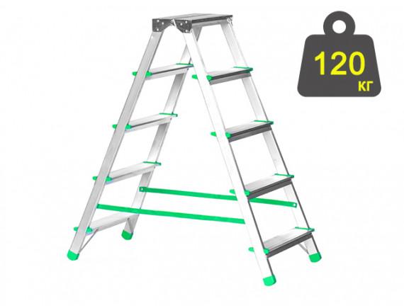 Лестница-стремянка алюминиевая iTOSS Eurostyl 98 см (2925)